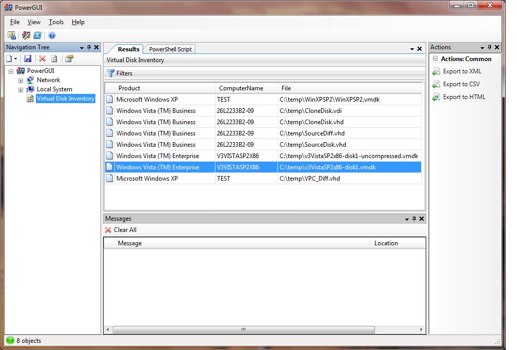 PowerPack for VHD/VDI/VMDK Inventory   Dmitry's Blog: Cloud