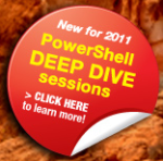 PowerShell Deep Dive 2011 Conference Logo
