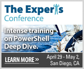 PowerShell Deep Dive and The Experts Conference 2012
