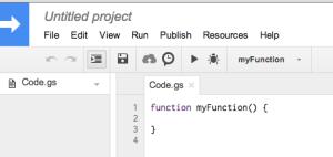 google-script